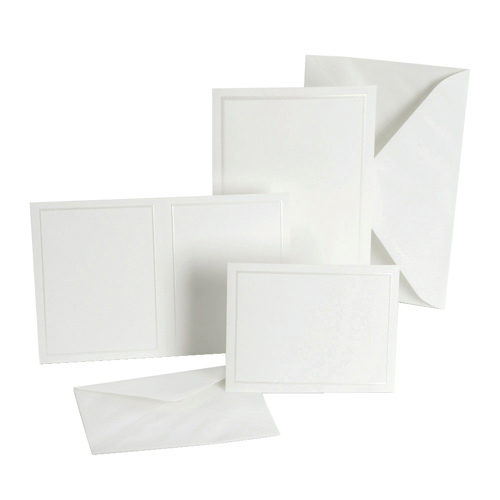 Gartner Studios 50-Pieces Invitation Kit (61001) - White