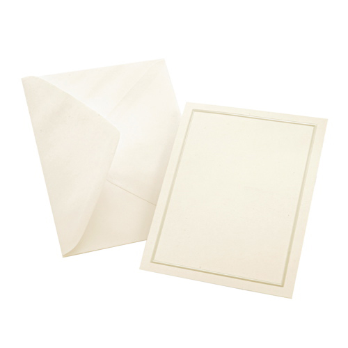 Gartner Studios 50-Pieces All Purpose Card (60022) - Ivory