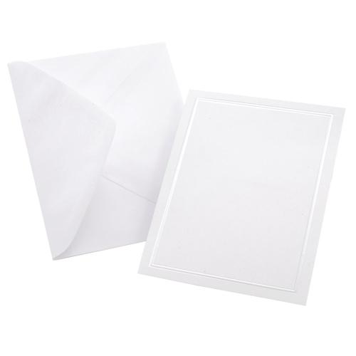 Gartner Studios 50-Pieces All Purpose Card (60023) - White