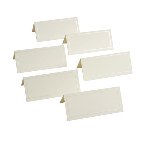 Gartner Studios 48-Pieces Placecards (83004) - Ivory
