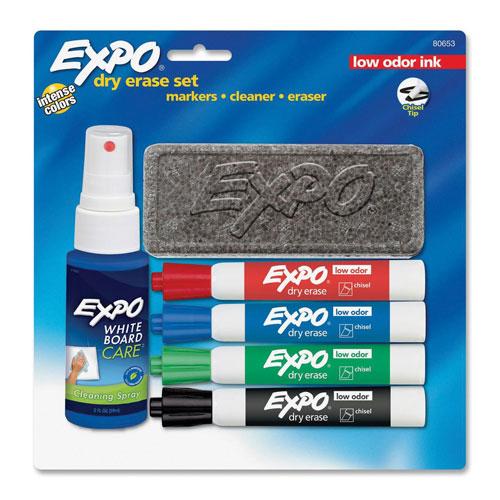 Marqueurs effaçables à sec d'Expo (80653C) - Assortis