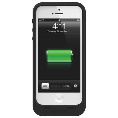 Étui avec batterie intégrée Juice Pack Air de mophie pour iPhone 5/5s/SE - Noir