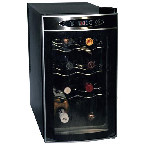 Cellier à vin de 8 bouteilles de Koolatron (WC08) - Noir