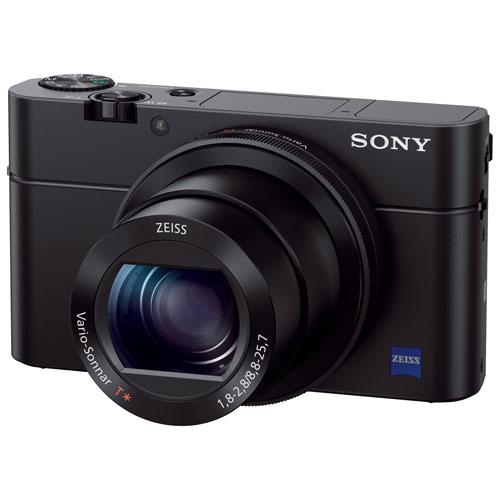 Appareil photo Cyber-shot RX100 III de 20,1 Mpx avec zoom optique 2,9x de Sony - Noir