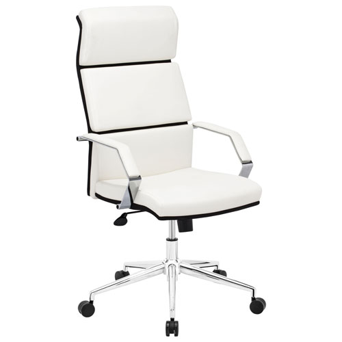 Zuo Lider Pro Leatherette Manager Executive Chair