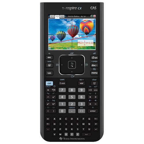 Texas Instruments TI-Nspire CX CAS Colour Graphing Calculator (N3CAS/CLM/2L1)