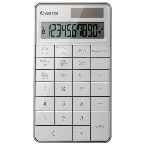 Canon X Mark I Bluetooth 2-in-1 Keypad Calculator (5093B003)