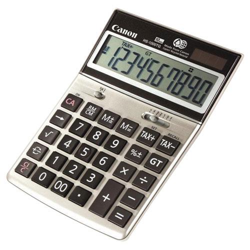 Canon 10-Digit Desktop Calculator (HS-1000TG)