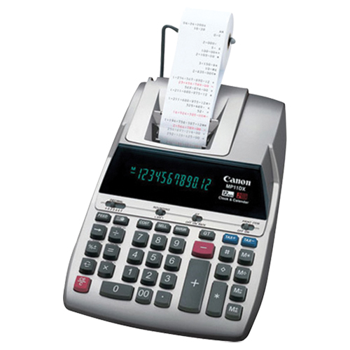 Calculatrice imprimante MP11DX de Canon (9637A002)