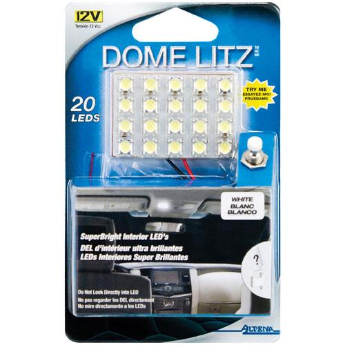 Lumières à DEL Dome Litz d'Alpena (77255W) - Blanc