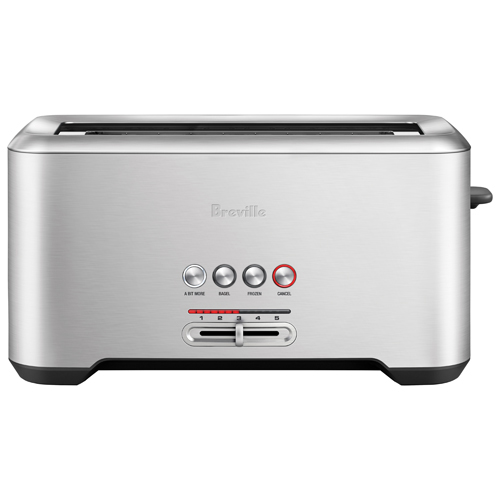 Breville The Bit More Toaster 4 Slice Toasters Best Buy Canada