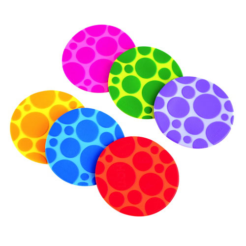 munchkin nonslip bath mat 6 pack multicolour