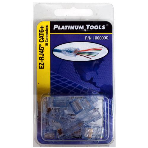 Connecteur pour câble CAT6 de Platinum Tools (100009C)