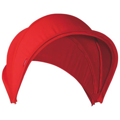 Pare-soleil pour poussette Smart V2 de phil&teds - Rouge