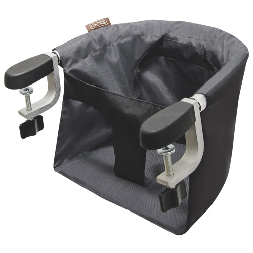 Superior Mountain Buggy Pod High Chair With Table Clamp   Black / Flint   Online Only