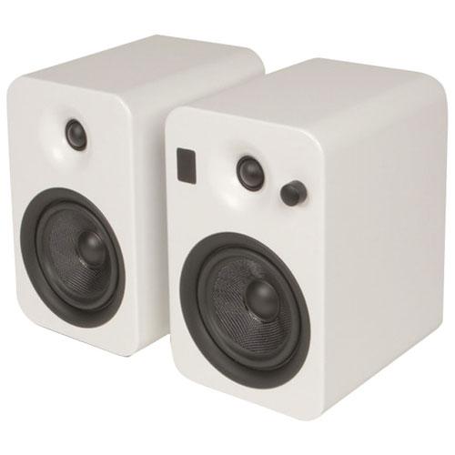 "Kanto YUMI 5"" 60W Bluetooth Bookshelf Speakers (YUMIWHT) - Matte White - Pair"