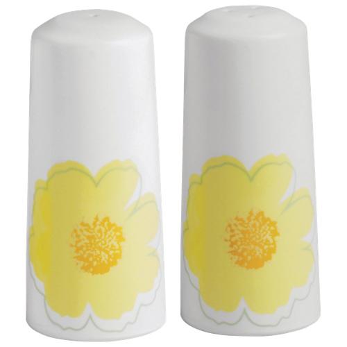 Brilliant Sunshine 2-Piece Salt and Pepper Shaker (7501.088.00) - White/Orange/Yellow