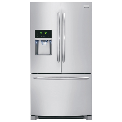 """Frigidaire Gallery 36"""" 27.2 Cu. Ft. French Door Refrigerator (FGHB2866PF) - Stainless Steel"""