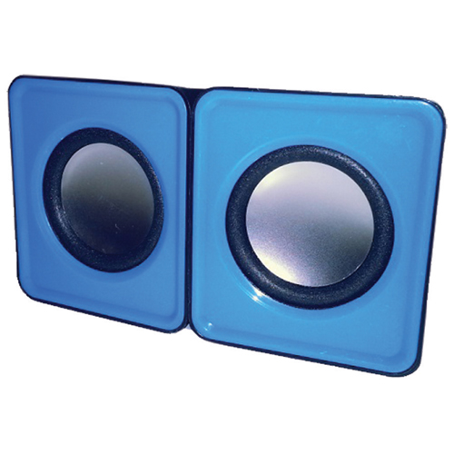 MMNOX Mini USB Speaker (HM324B) - Blue