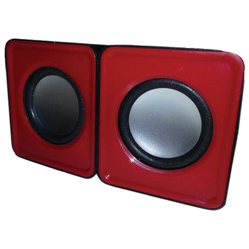 Haut-parleur mini USB de MMNOX (HM324R) - Rouge