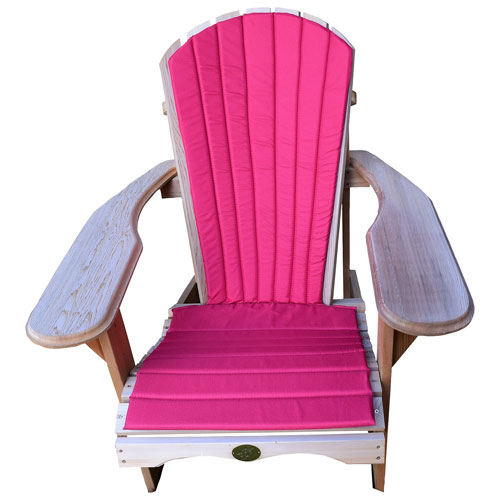 Bear Chair Adirondack Chair Lightweight Seat Pad Red Outdoor