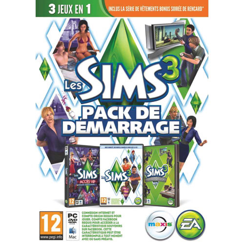 Les Sims 3 ensemble de démarrage (PC) - Français