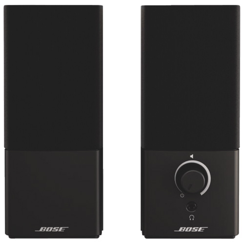 bose computer speakers. bose companion 2 series iii multimedia speakers - black : computer best buy canada