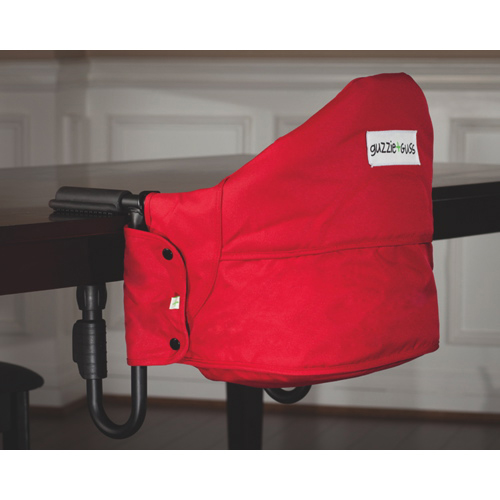 Genial Guzzie + Guss Perch Hanging High Chair   Red