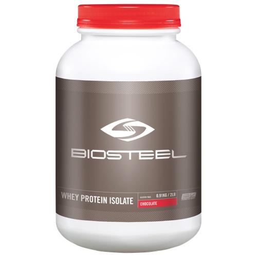 BioSteel Whey Protein Isolate Powder - 900g (2 lbs) - Chocolate