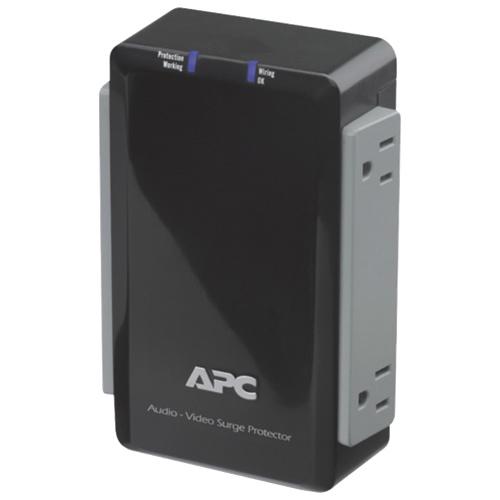 Parasurtenseur à 4 prises SurgeArrest d'APC pour appareils audio et vidéo (P4V)