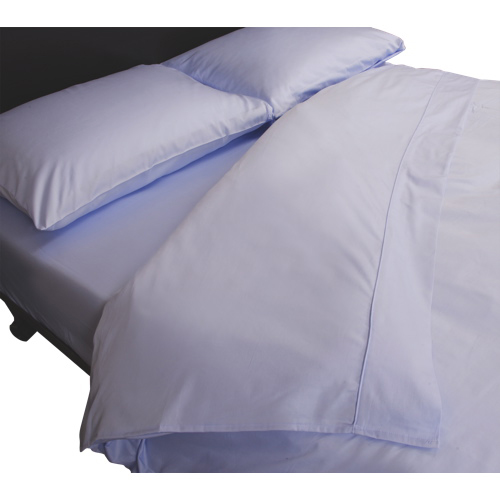 Maholi Maxwell Collection 230 Thread Count Egyptian Cotton Duvet Cover Set - Queen - Sky Blue