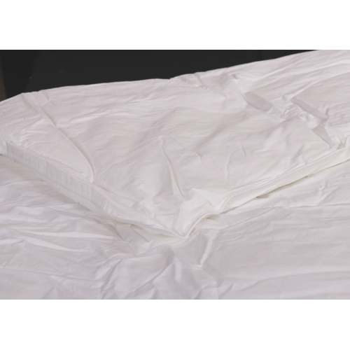 Douillette en gel de microfibre cont. 233 collection Ambassador de Maholi - Lit simple - Blanc