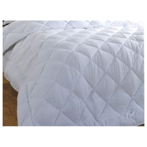 Douillette de microfibre cont. 233 collection Ambassador de Maholi (OMD-003D) - Lit double - Blanc