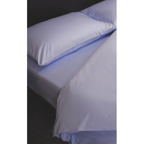Maholi Maxwell Collection 230 Thread Count Egyptian Cotton Duvet Cover Set - Single/Twin - Blue