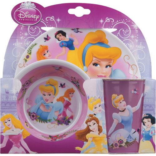 Home Presence Disney Princess 3-Piece Dinnerware Set - Belle
