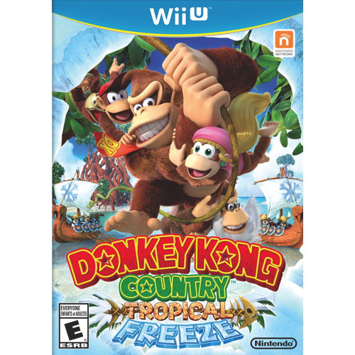 Donkey Kong Country: Tropical Freeze (Wii U) - Usagé