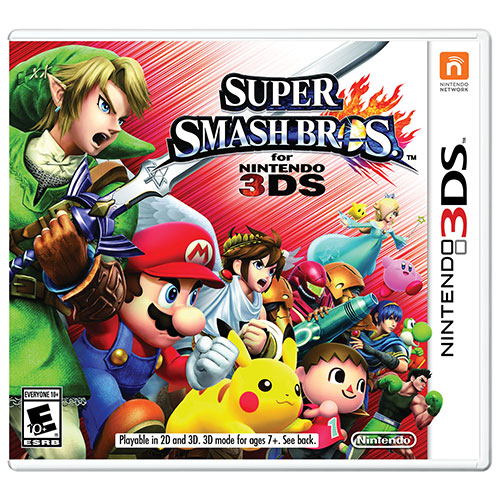 Super Smash Bros (3DS) - Previously Played