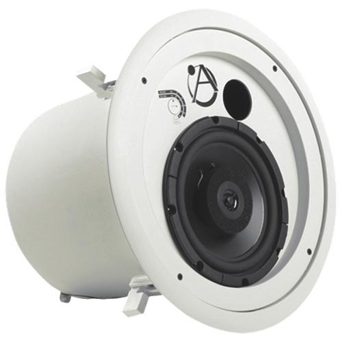 "Atlas Sound FAP82T 8"" Coaxial Ceiling Speaker - White"