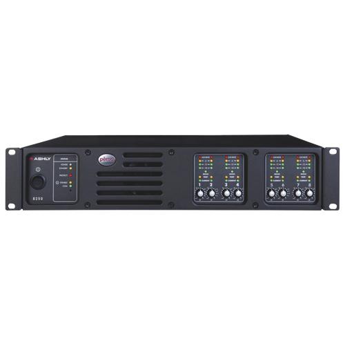 Ashly 8-Channel 250W 4Ohm Amplifier (PEMA8250)