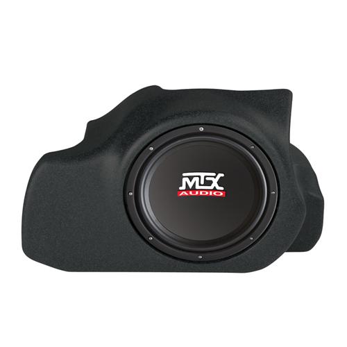 Enceinte h.-p. ext. graves amplifié de 12 po ThunderForm de MTX pour Ford Mustang 2005-2012 - Noir