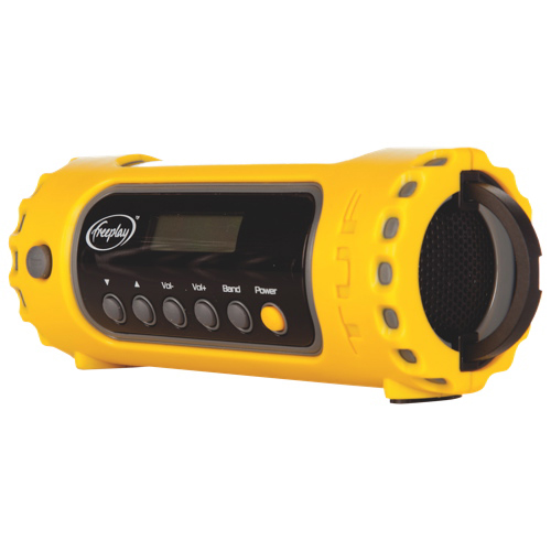 Freeplay Tuf Solar & Crank Multiband Rechargeable Radio with LED Light (A116-WB1-YL2-0000-FP)