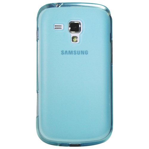 Exian Samsung Galaxy Ace II X Soft Shell Case (ACE2X001) - Blue