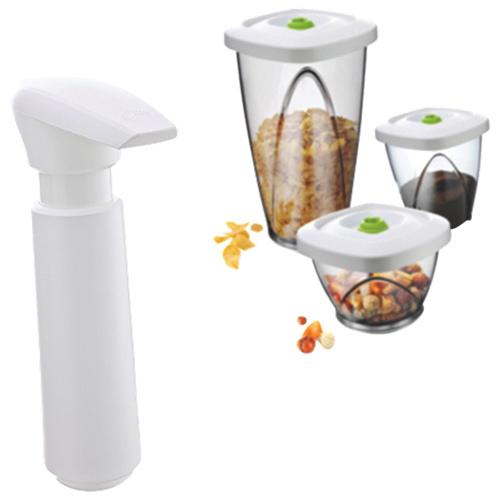 Vacu Vin Vacuum Container Pump - White
