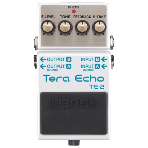 Pédale compacte Tera Echo de BOSS (TE-2)