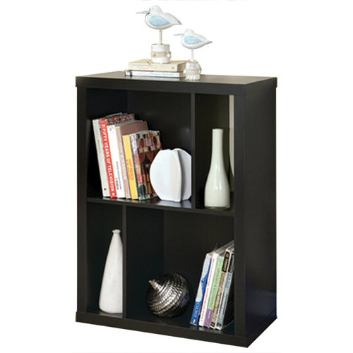 "Monarch Bookcase TV Stand for TVs Up To 38"" (I 2520) - Cappuccino"