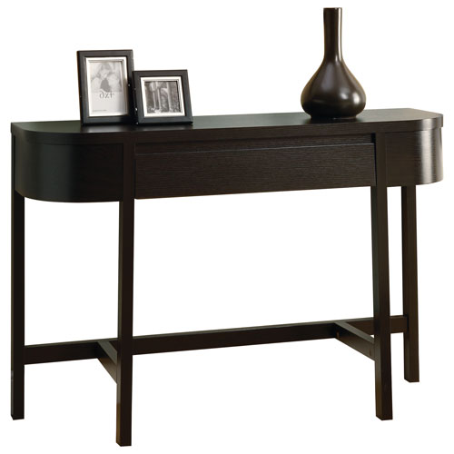 Console Table Canada console table with storage drawer - cappuccino : console tables