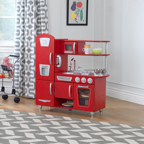 kidkraft vintage kitchen red play kitchens best buy canada - Kidkraft Vintage Kitchen