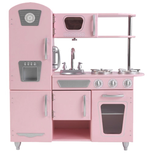 cuisine vintage de kidkraft rose cuisines jouets best buy canada. Black Bedroom Furniture Sets. Home Design Ideas