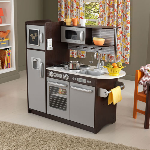 kidkraft modern espresso kitchen play kitchens best buy canada - Kidkraft Espresso Kitchen