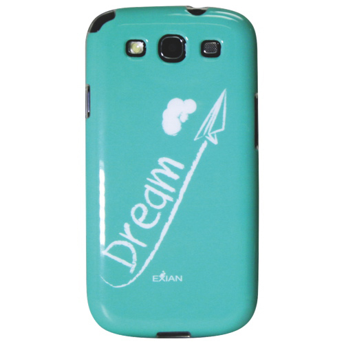 Exian Samsung Galaxy S III Dream Soft Shell Case (S III039) - Green
